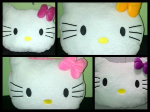 Bantal Kepala Hello Kitty XL