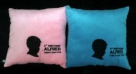 Bantal Siluet Wajah Customized