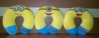 Bantal Leher Minion