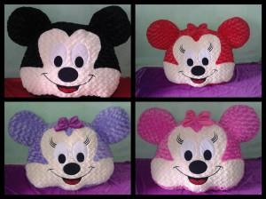 Bantal Muka Jumbo Micky atau Minnie Mouse