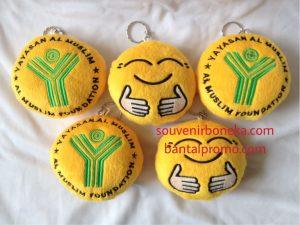 Gantungan Kunci Emoticon Custom
