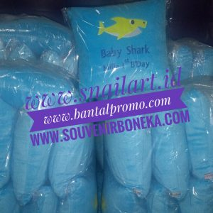 Bantal Souvenir Ultah Bordir Custom